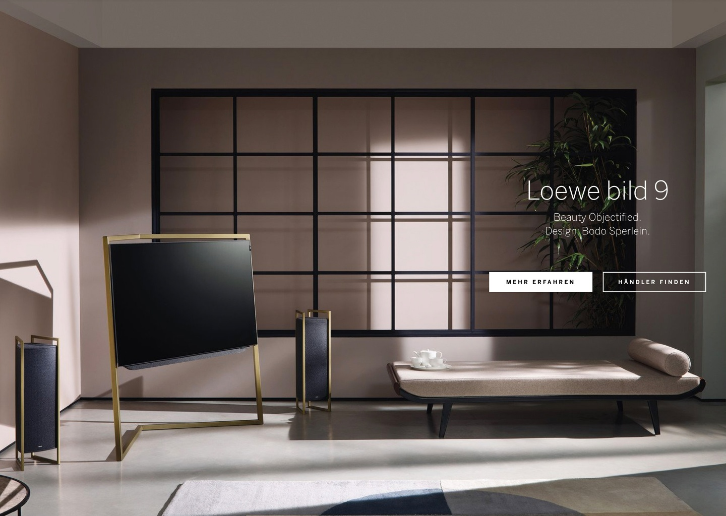 Web concept for Loewe - by Corporate Creation