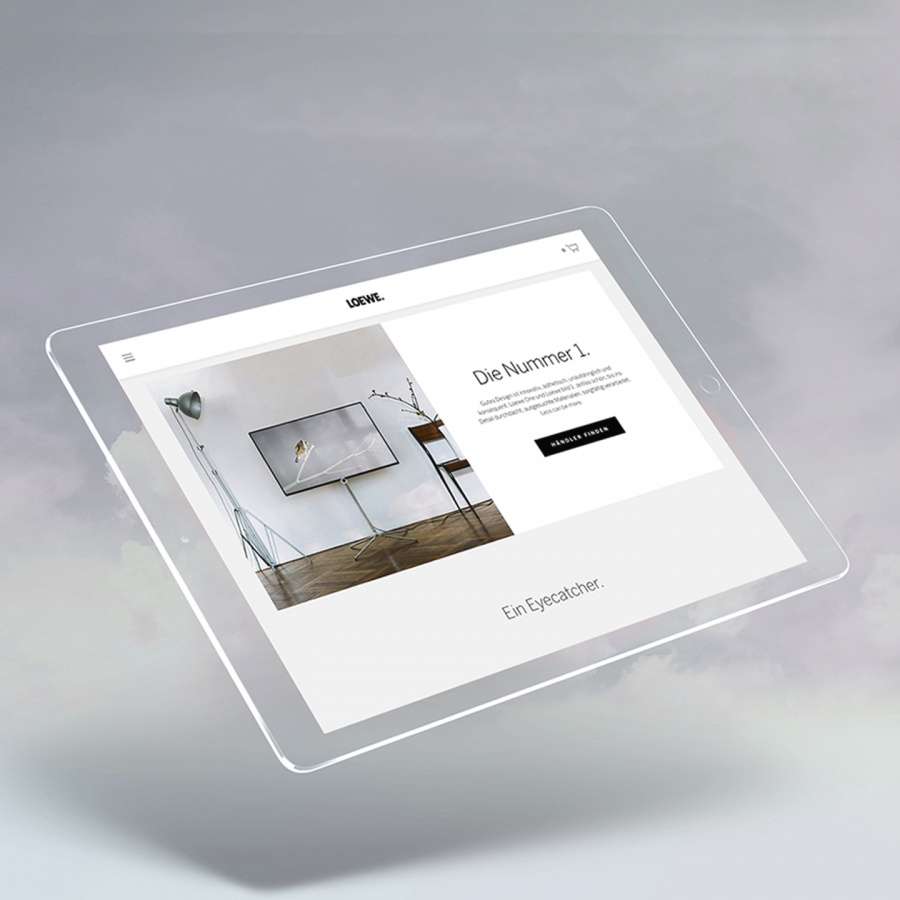 Mobile presence for Loewe - by Corporate Creation