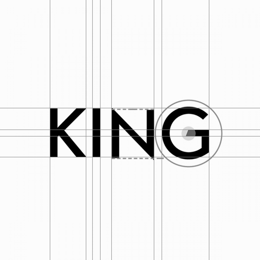Logo creation for the King Gin - by Corporate Creation