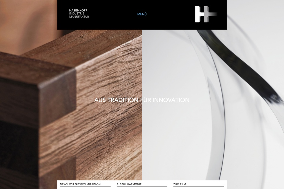Hasenkopf website – by Corporate Creation